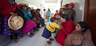 First day of clinic, Cajamarca
