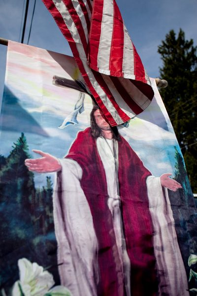 Patriotic Jesus