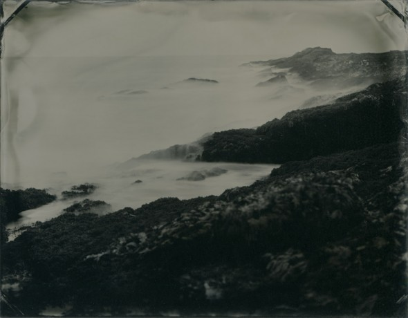 Cape Elizabeth, Maine. Tintype, 3.5 in x 4.5 in