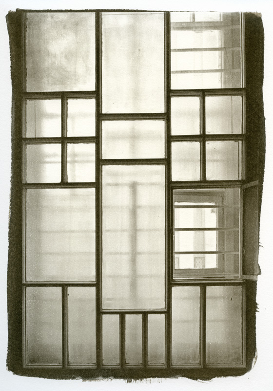 Windowpanes, KGB Headquarters, Vilnius, Lithuania