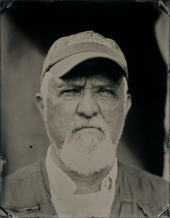 Neal Parent, tintype, 3.5x4.5 inches