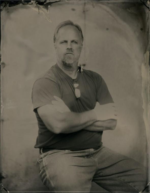 John Polhemus, tintype, 9in x 7 in