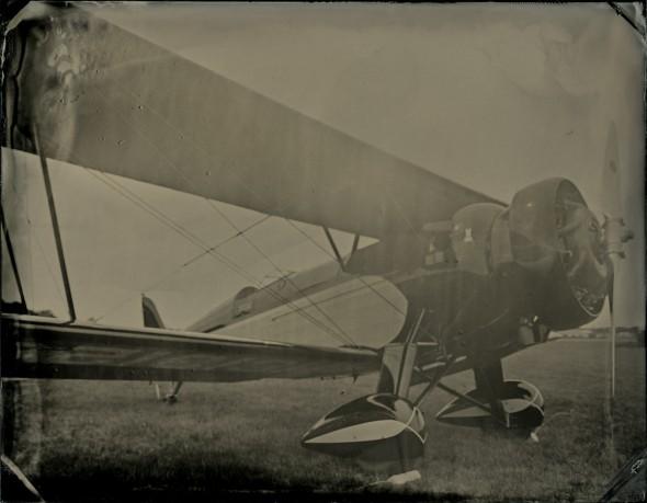 1930 Pitcairn PA 7STintype, 3.5 x 4.5 inches.©2014 Mark Edward Dawson