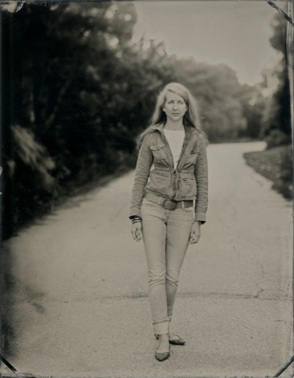 Sacha Wolf. Tintype, 3.5x4.5 inches.