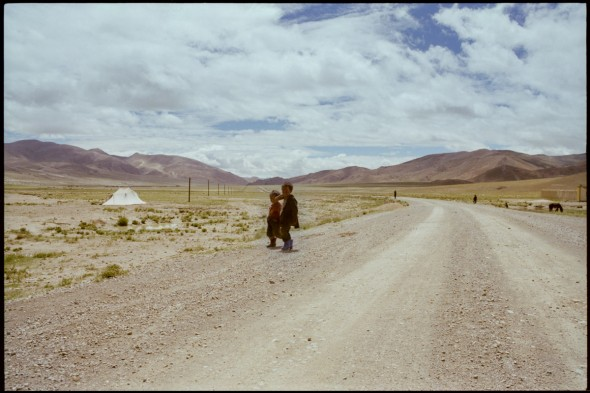 Tibet, somewhere between the Everest base camp and the Nepal border, 1992