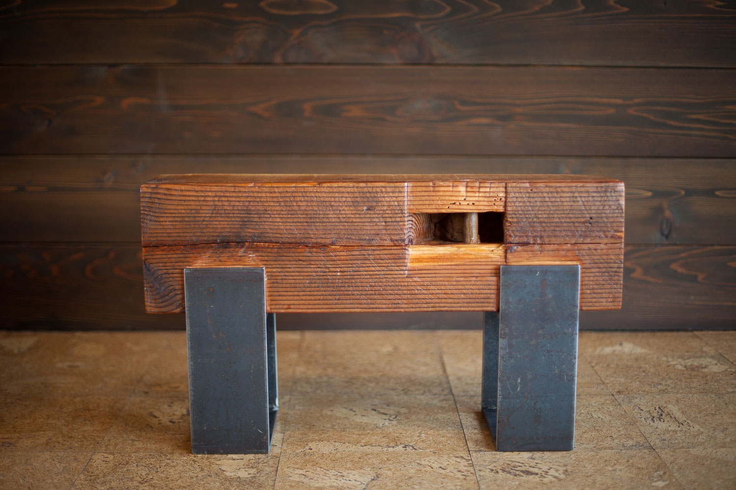 Groovy The Nomadic Frog Blog Archive Reclaimed Wood Beam And Ibusinesslaw Wood Chair Design Ideas Ibusinesslaworg