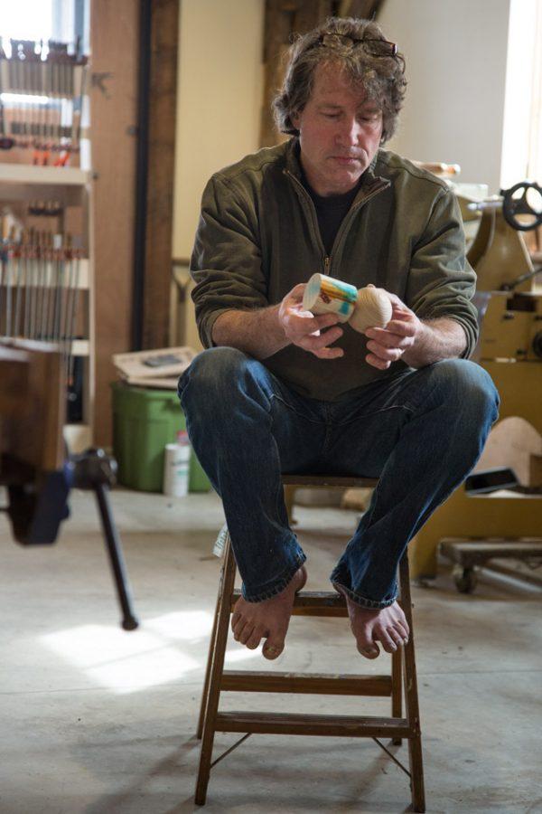 Stephen Gleasner, woodworker