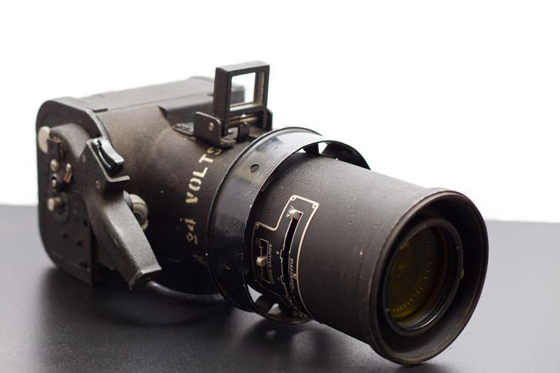"""Fairchild KA-23A camera, 15"""" f/5.6 Wollensak lens."""