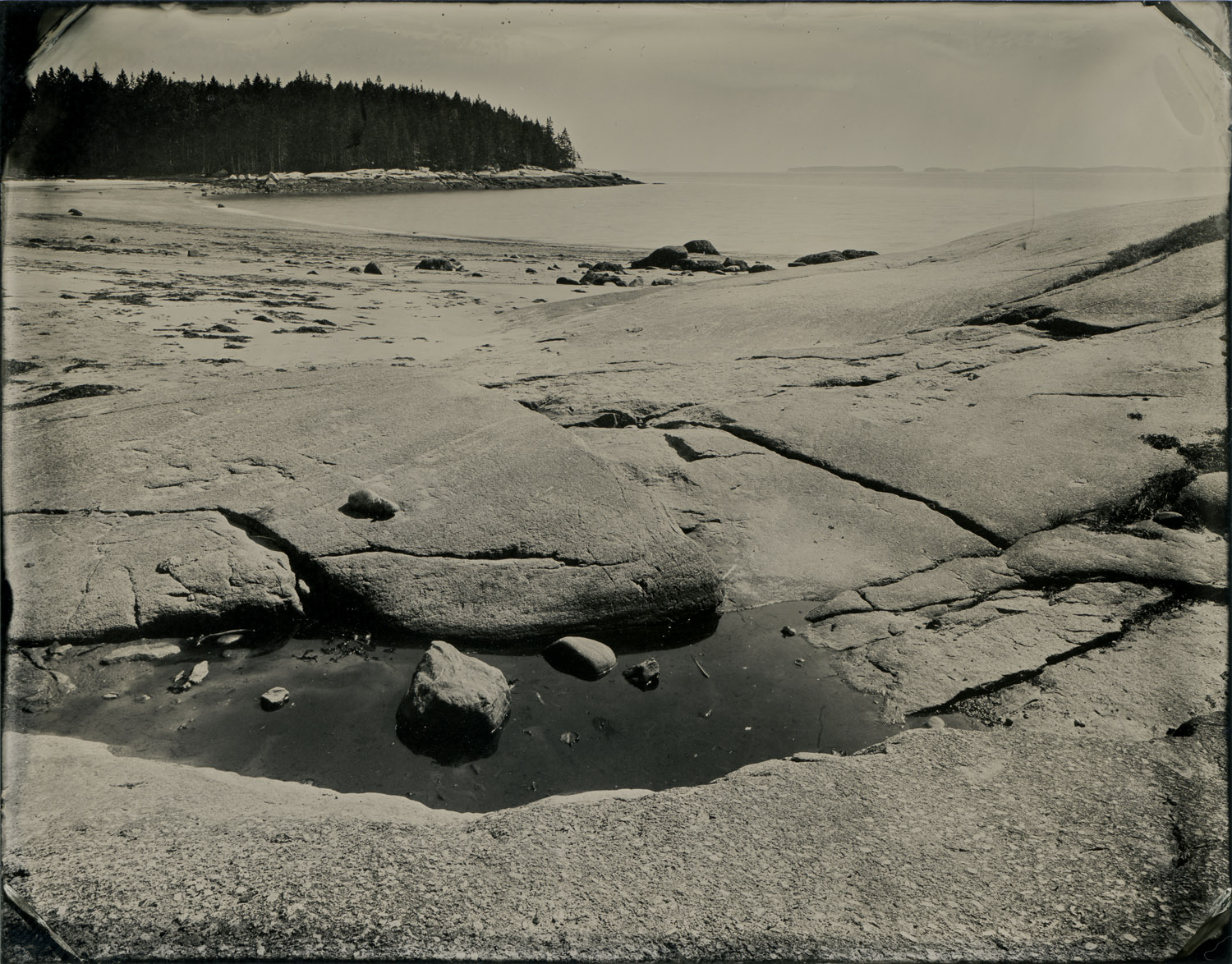 Birch Point State Park, Tintypes, 3.5 x 4.5 inches