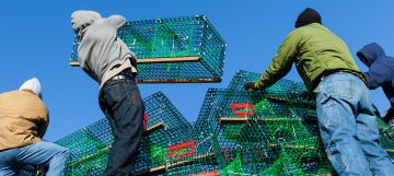 Rockland Lobster Trap Christmas Tree