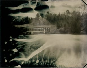 Howe Point, Ducktrap River Bridge – Tintypes