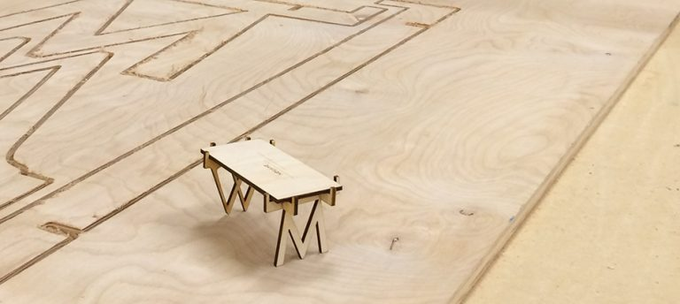 Type Drawer Coffee Table