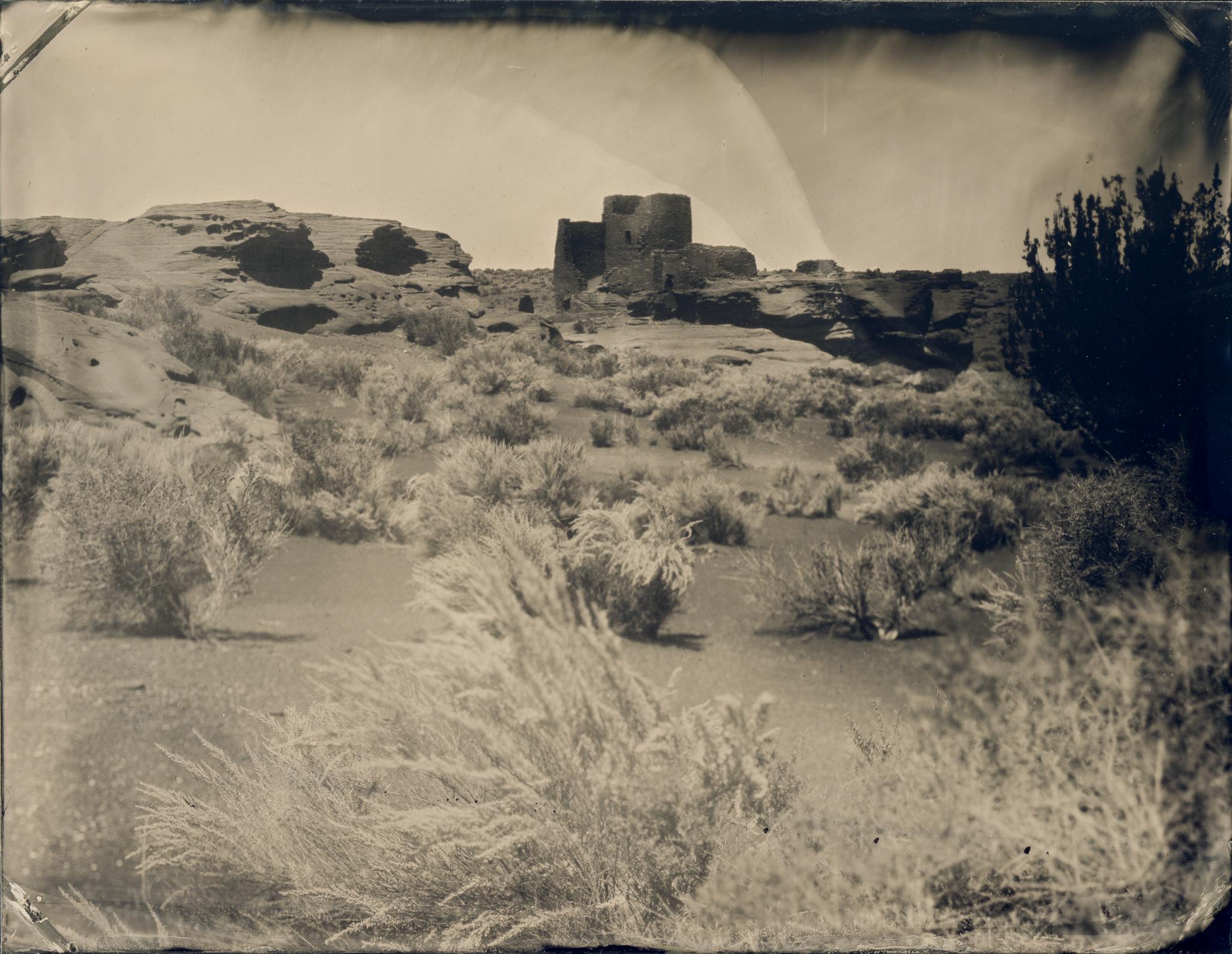 Wukoki Pueblo and the Grand Canyon Tintypes
