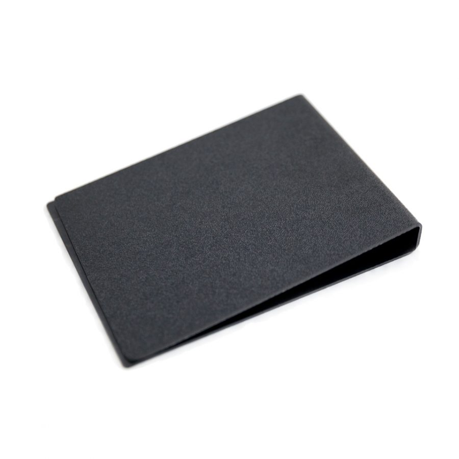 Basic black ABS plastic protective cover.