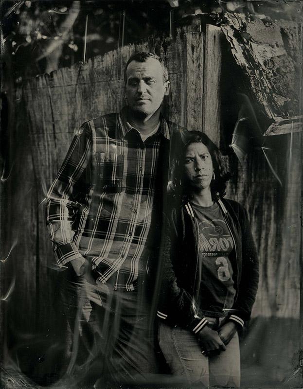 Brad Vest and Andrea Morales, Memphis, 2016