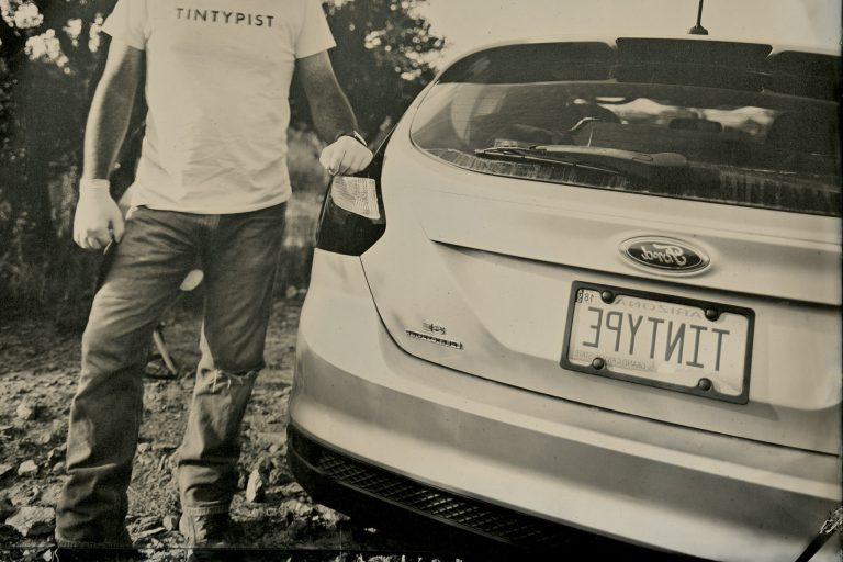 Read more about the article Tintype license plate