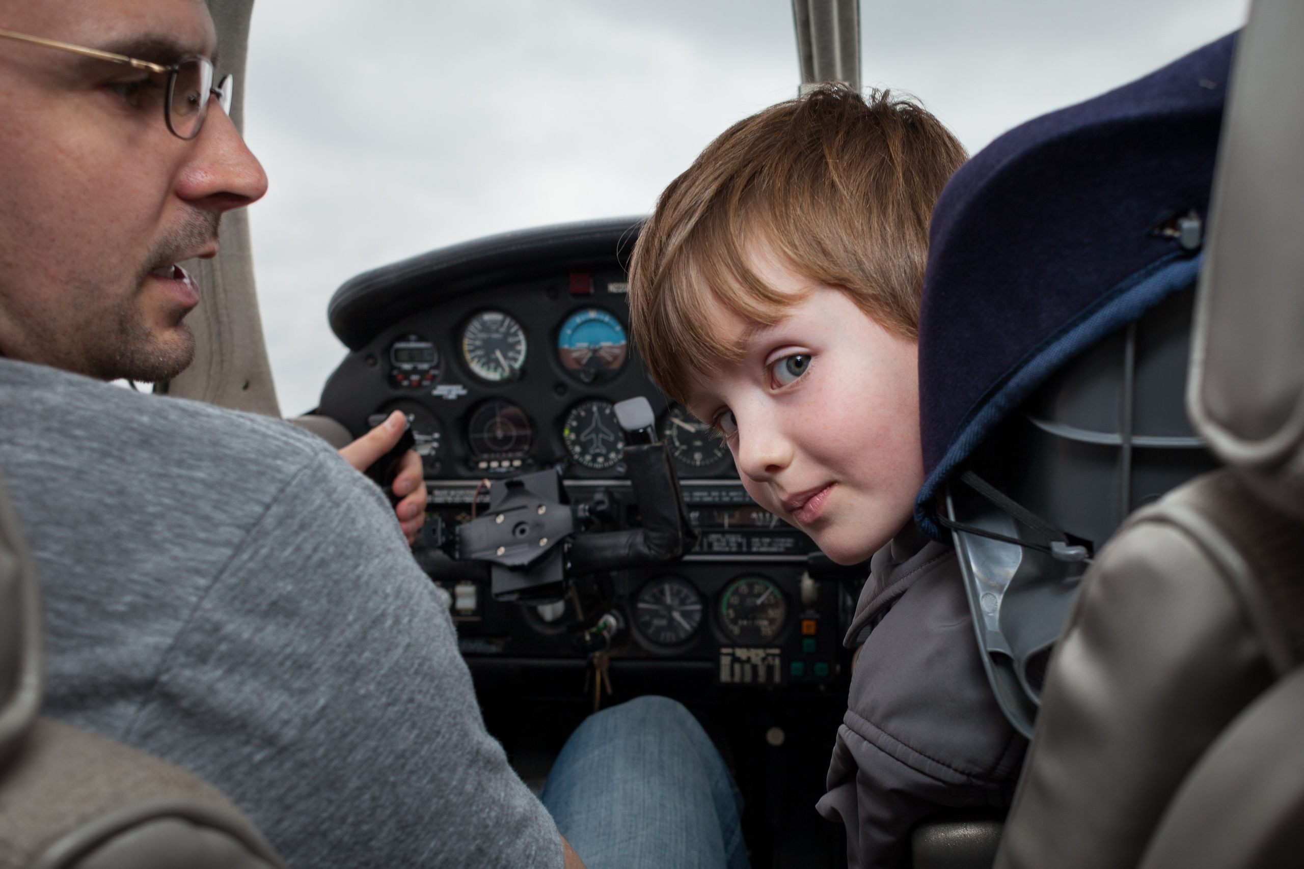 Read more about the article Emmett's birthday flight